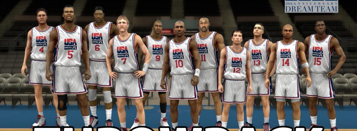 NBA 2K13 DREAM TEAM VS TEAM USA THROWBACK | Brandon Simmons