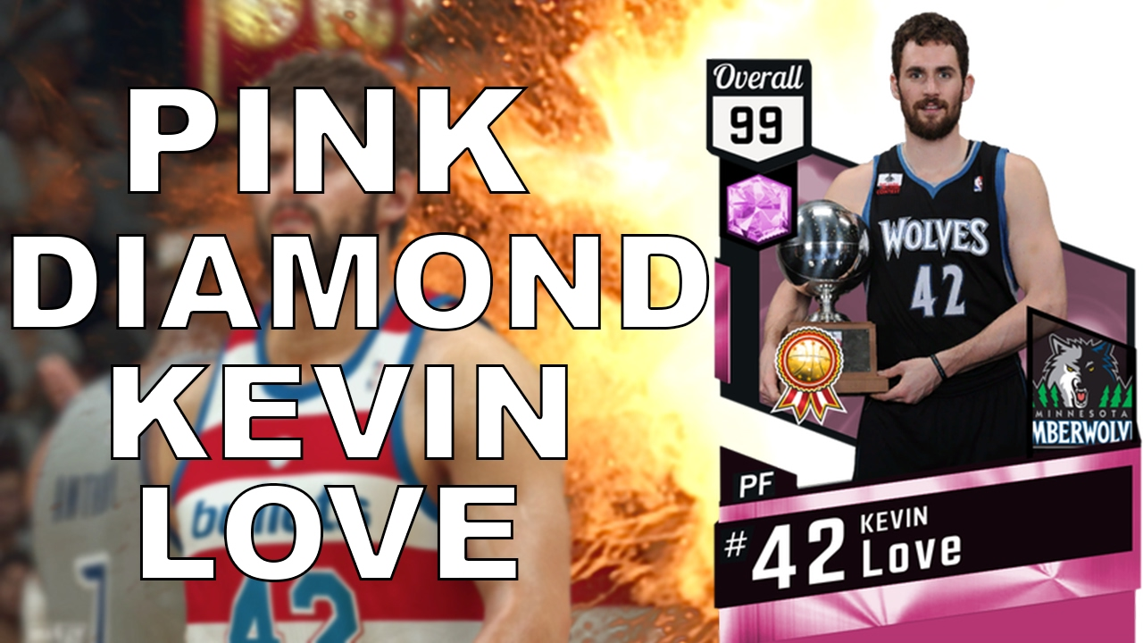 Pink Diamond Locker Codes Twitter - Finally got 99 pink diamond kevin love nba 2k17 myteam gameplay